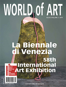 world of art katharina Goldyn La Biennale di Venezia cover